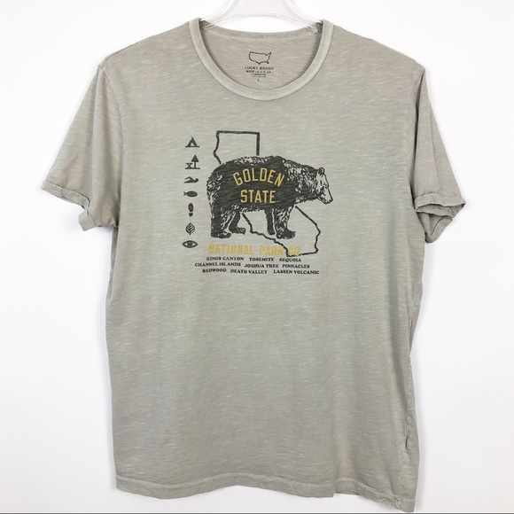 ca48d1509 Lucky Brand Other - Lucky Brand | Golden State Graphic Tee Bear